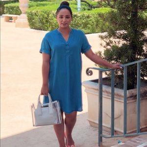Soft Jean Material Dress